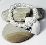 Personalised Stretch Pearl Bracelet